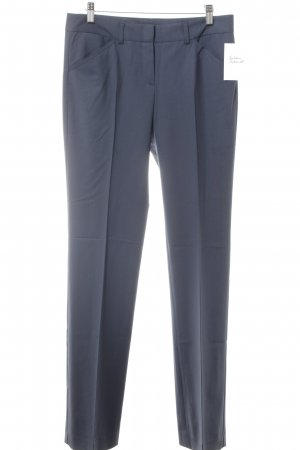 Theory Bundfaltenhose dunkelblau Business-Look
