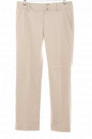 Theory Bundfaltenhose hellbeige Casual-Look