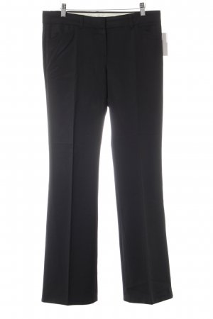 Theory Bundfaltenhose schwarz Business-Look