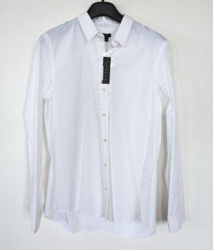 Theory Camicia blusa bianco Cotone