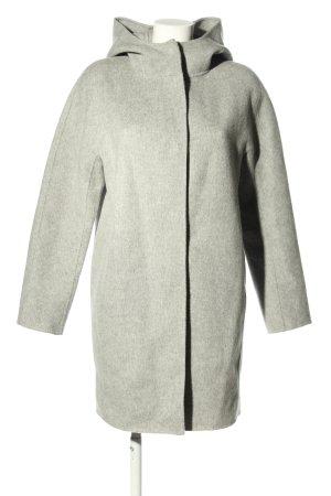 Theory Hooded Coat light grey casual look