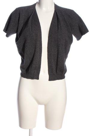 Theory Cardigan a maniche corte grigio chiaro puntinato stile casual