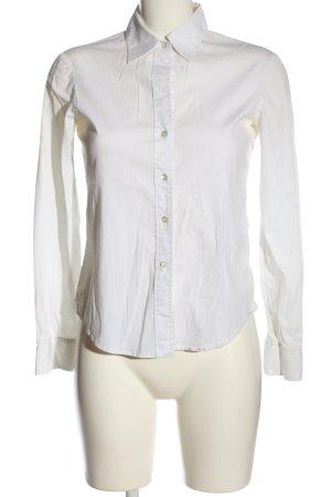 Theory Camicia a maniche lunghe bianco stile professionale
