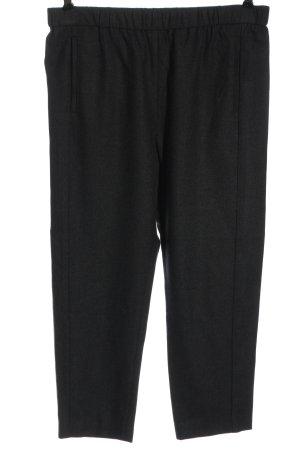 Theory Pantalone jersey nero stile casual