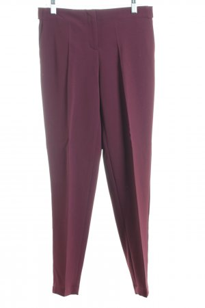 Theory Stoffhose bordeauxrot Business-Look