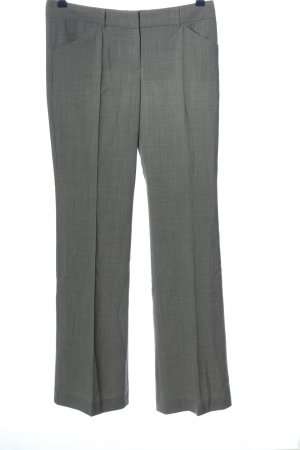 Theory Pantalone jersey grigio chiaro puntinato stile professionale