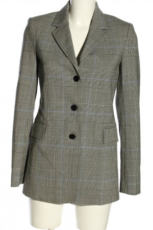 Theory Woll-Blazer hellgrau Allover-Druck Business-Look