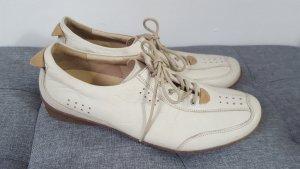Theresia M. Damen Sneaker Schnürschuhe Biomechanik Sohle creme Größe 42 2/3