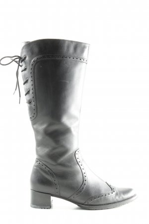 Theresia m. Jackboots black casual look