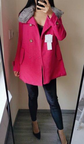 Etam Weekend Wool Coat multicolored