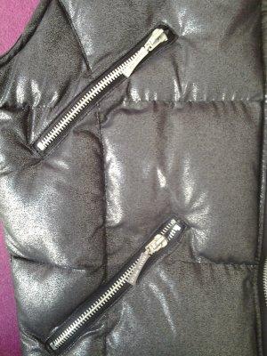 Thermoweste in schwarz/silber