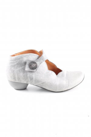 Think! Cut Out Booties light grey extravagant style