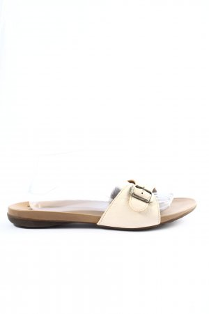 Think! Dianette Sandals cream-silver-colored casual look