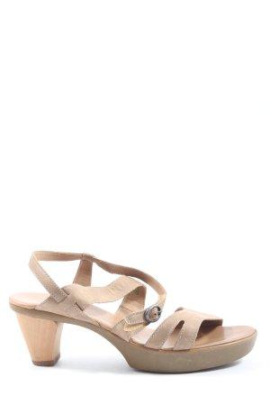Think! High Heel Sandaletten braun Casual-Look