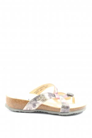 Think! Comfort Sandals light grey-lilac casual look