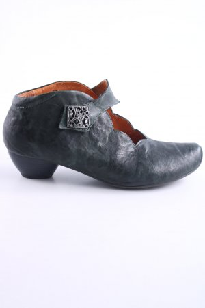 Think! Zapatos Mary Jane verde oscuro look Street-Style
