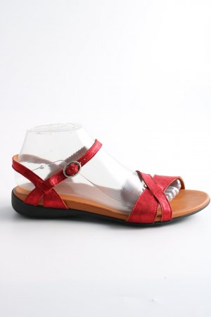 Think! Riemchen-Sandalen rot Casual-Look