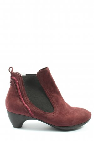 Think! Slip-on Booties red-black casual look