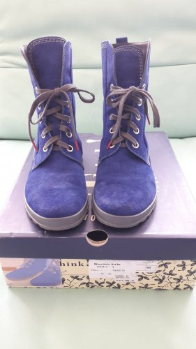 Think Schnürboots Gr.40 royalblau