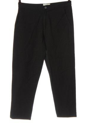 Thinking Mu Luźne spodnie czarny W stylu casual