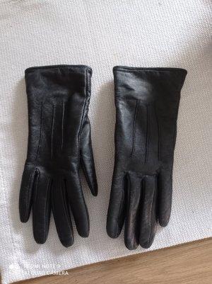 Thinsulate Leren handschoenen zwart