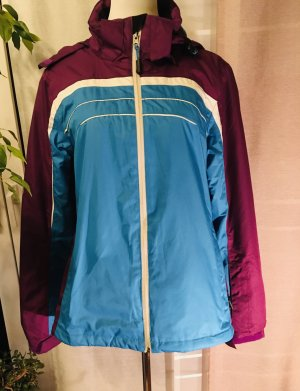 The North Face Imperméable bleu fluo-violet