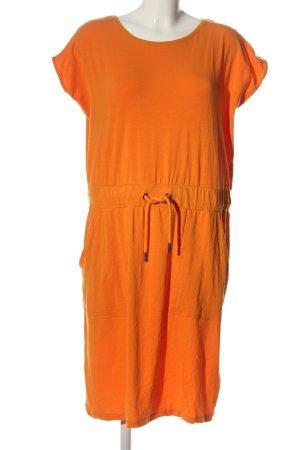 ThokkThokk Vestido de tela de sudadera naranja claro look casual