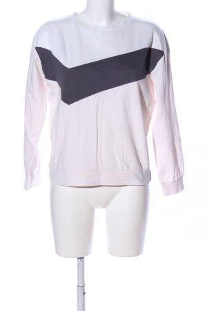 ThokkThokk Sweat Shirt white-black casual look