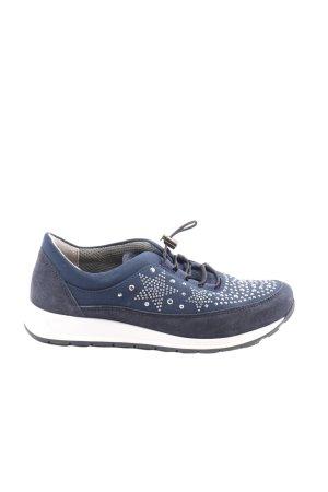 Thom by Thomas Rath Slip-on Sneakers blue-lilac elegant