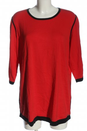 Thomas Rabe Crewneck Sweater red casual look