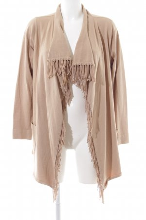 Thomas Rabe Strick Cardigan nude Casual-Look