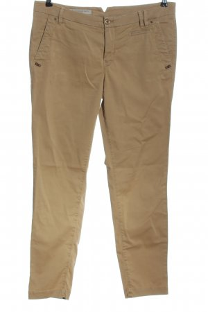 Thomas Rath Pantalone chino marrone stile casual