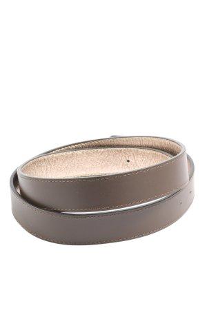 Thomas Rath Cinturón de cuero de imitación marrón look casual