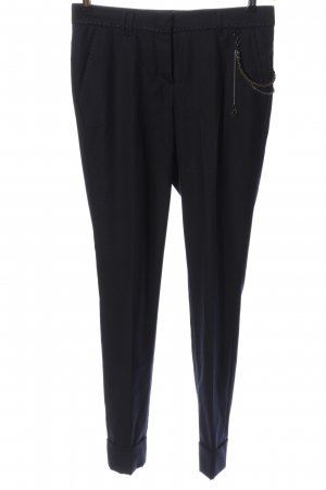 Thomas Rath Pantalone jersey nero stile casual