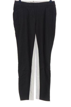 Thomas Rath Pantalone jersey nero-bianco stile casual