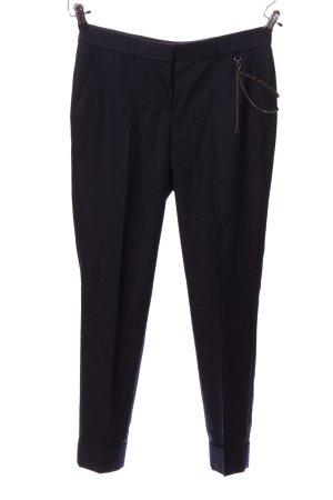 Thomas Rath Pantalone jersey nero stile professionale