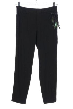 Thomas Rath Pantalone elasticizzato nero stile casual