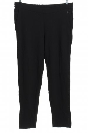 Thomas Rath Stretchhose schwarz Casual-Look
