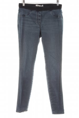 Thomas Rath Stretchhose hellgrau Casual-Look