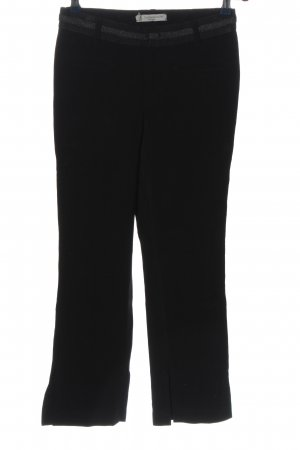Thomas Rath Stretchhose schwarz Business-Look