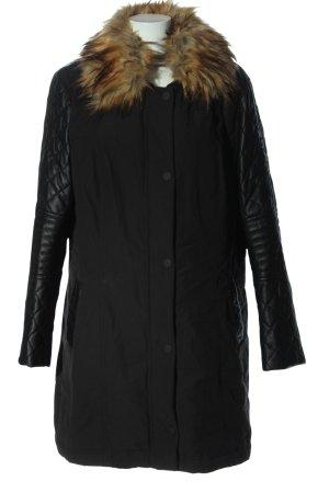 Thomas Rath Giacca invernale nero motivo trapuntato stile casual
