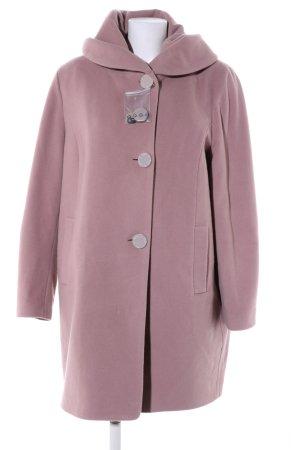Thomas Rath Abrigo de lana rosa estilo «business»