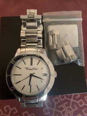 Thomas Sabo Horloge met metalen riempje zilver