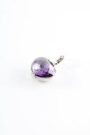 Thomas Sabo Colgante violeta oscuro Herzmuster look casual