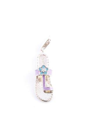 Thomas Sabo Colgante color plata-lila elegante