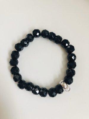 Thomas Sabo Armband zilver-zwart