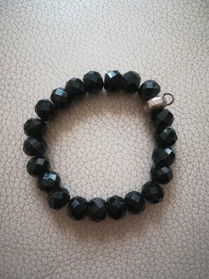 Thomas Sabo Bransoletki z perłami czarny