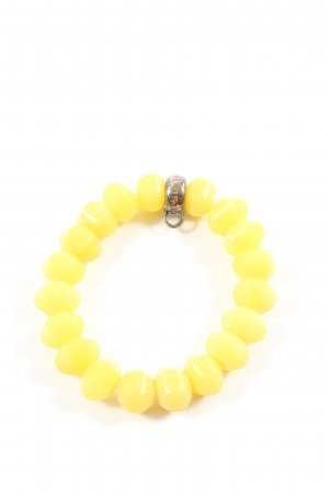 Thomas Sabo Pulsera amarillo pálido elegante