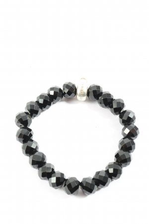 Thomas Sabo Armband zwart casual uitstraling