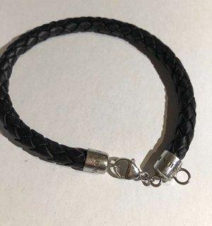 Thomas Sabo Armband zwart-zilver